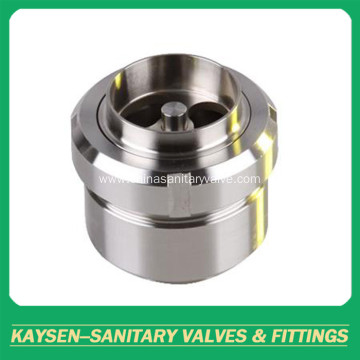 SMS/DIN Sanitary weld check valve union type